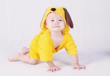 鼓励加油可爱宝宝图