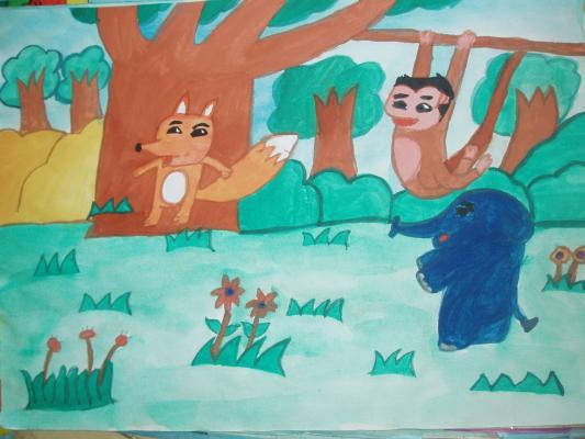 森林里的小动物
