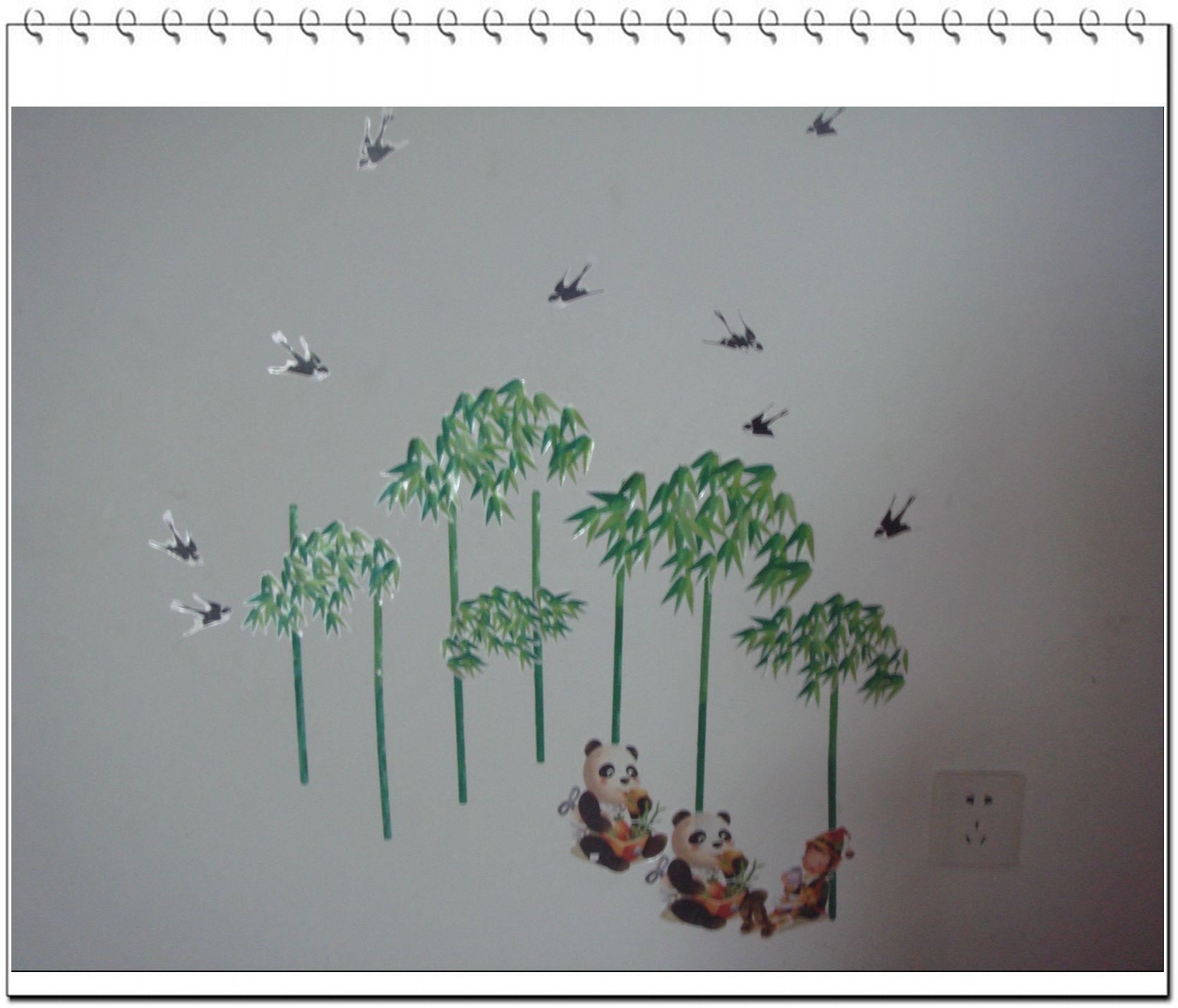 墙粘贴画-我家的墙贴画